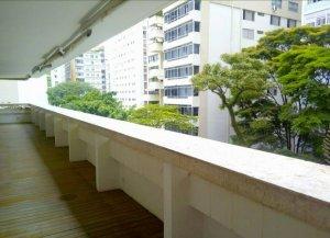 Apartamento com Terraço no Jardim América