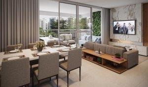 Apartamento Garden no Diogo Ibirapuera